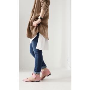 靴 リボン パンプス ペタンコ 大人 デザインリボンパンプス・3月25日20時〜再再販。メール便不可|antiqua|06