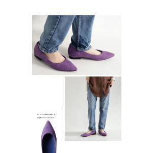 靴 合皮 シューズ パンプス otonaカラーパンプス・再販。##メール便不可|antiqua|06