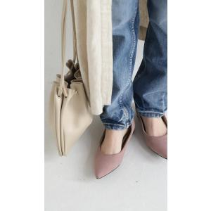 靴 合皮 シューズ パンプス otonaカラーパンプス・再販。##メール便不可|antiqua|08