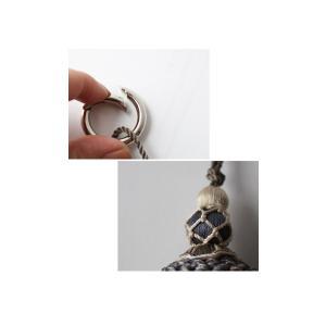 アクセ タッセル スモーキーカラー ビッグタッセル・12月5日20時〜発売。##メール便不可|antiqua|06