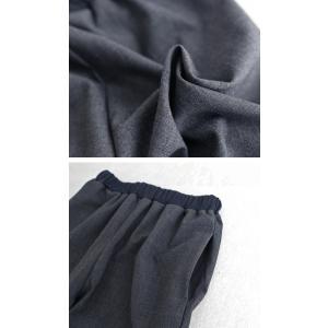 パンツ ボトムス シンプル ベーシック 裾リブスリットパンツ・6月30日0時〜再再販。100ptメール便可|antiqua|11