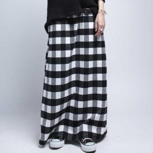 ボトムス スカート ブロックチェック チェック柄スカート・12月12日20時〜発売。##メール便不可|antiqua