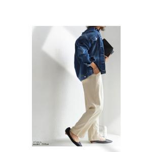 ヴィンテージデニムジャケット・2月13日20時〜再再販。『愛用し続けたようなヴィンテージ感にとことん拘ってます。』「G」##メール便不可|antiqua|12