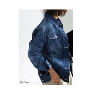ヴィンテージデニムジャケット・2月13日20時〜再再販。『愛用し続けたようなヴィンテージ感にとことん拘ってます。』「G」##メール便不可|antiqua|05