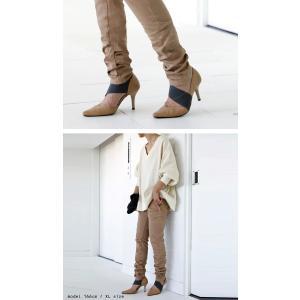ボトムス パンツ XXS XS S M L XL XXL レディース 超美脚スキニー・1月8日20時〜発売。(100)メール便可|antiqua|13