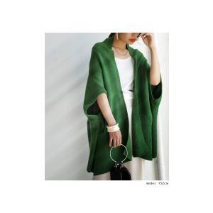 ナチュラル羽織りが必須。』畦編み2way綿ニットカーデ・2月9日20時〜再販。『欲張り大人女子は季節を超えてナチュラル羽織りが必須。』##メール便不可|antiqua|03