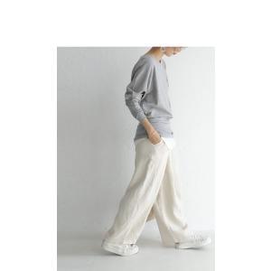 綿100% トップス ドルマン カットソー cottonドルマンロンT・5月23日20時〜再再販。100ptメール便可|antiqua|15