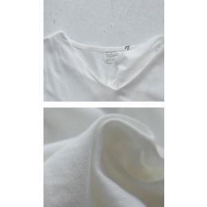 空気を纏うように、ゆるく。cottonドルマンロンT・2月12日20時〜再再販。直感で選びたい。ドルマンと綺麗Vネックで作る美差。「G」(100)メール便可|antiqua|07