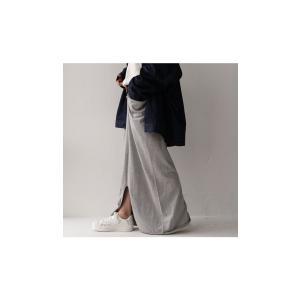 スカート モード ブラック 変形 綿 ミニ裏毛変形スカート・再再販。##「G」メール便不可|antiqua|04