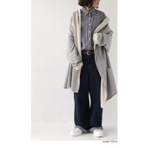 羽織り コート アウター 綿 オリジナル 裏毛フード付き羽織り・10月10日20時〜再販。##「G」メール便不可|antiqua|11