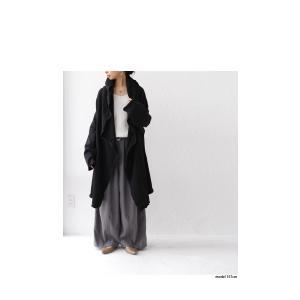 羽織り コート アウター 綿 オリジナル 裏毛フード付き羽織り・10月10日20時〜再販。##「G」メール便不可|antiqua|17