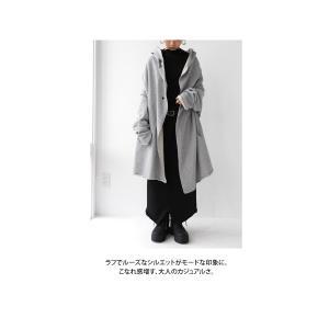 羽織り コート アウター 綿 オリジナル 裏毛フード付き羽織り・10月10日20時〜再販。##「G」メール便不可|antiqua|10