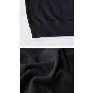 トップス カジュアル 裏毛 オリジナル 裏毛プルオーバートップス・再再販。メール便不可|antiqua|06