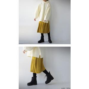 ボトムス スカート ニット ミディ リブスカート、・##メール便不可|antiqua|13