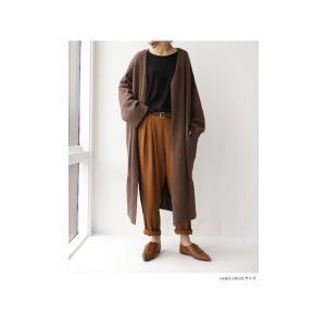 トップス カットソー 8分袖 裏起毛 暖 メロー8分袖T・(50)メール便可 antiqua 19