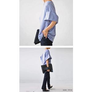 トップス プルオーバー 五分袖 七分袖 綿 綿100% 袖デザイントップス・(80)◎メール便可|antiqua|13