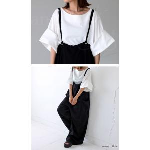 トップス プルオーバー 五分袖 七分袖 綿 綿100% 袖デザイントップス・(80)◎メール便可|antiqua|10