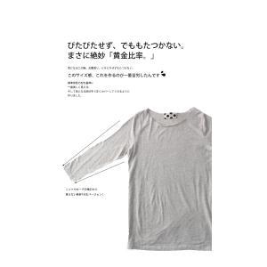 トップス 七分袖 メロー Tシャツ インナー カットソー 七分袖メローT・(50)メール便可|antiqua|08