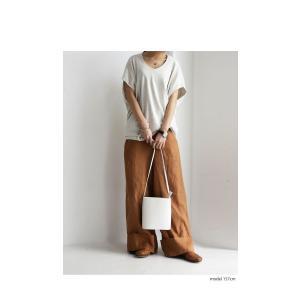 トップス カットソー 半袖 Tシャツ ワイド VネックT・5月25日20時〜発売。(100)メール便可|antiqua|04