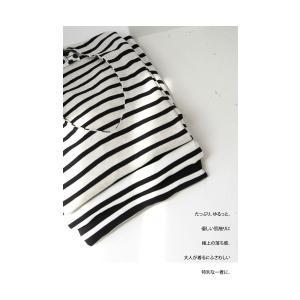 トップス カットソー 半袖 レディース Tシャツ  VネックボーダーT・(100)メール便可|antiqua|18