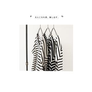トップス カットソー 半袖 レディース Tシャツ  VネックボーダーT・(100)メール便可|antiqua|06