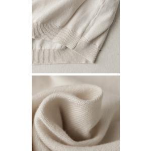 トップス ニット 長袖 レディース 綿 綿100% 綿ニット 綿Vネックニット・3月7日20時〜再再販。80ptメール便可|antiqua|09
