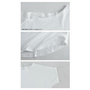 ドルマンTシャツ 半袖 トップス レディース 五分丈 無地 大きいサイズ ゆったり カットソー・2月26日20時〜発売。50ptメール便可|antiqua|11