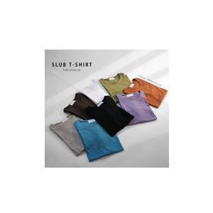 トップス Tシャツ レディース 半袖 綿 綿100 カットソー スラブトップス・4月25日20時〜発売。80ptメール便可|antiqua|19