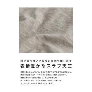 トップス Tシャツ レディース 半袖 綿 綿100 カットソー スラブトップス・4月25日20時〜発売。80ptメール便可|antiqua|10