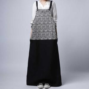 otonaが選ぶサロペstyle。ジャガード柄サロペスカート・再再販。サロペット 「G」##メール便不可|antiqua
