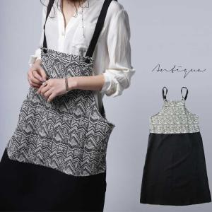 otonaが選ぶサロペstyle。ジャガード柄サロペスカート・再再販。サロペット 「G」##メール便不可|antiqua|11