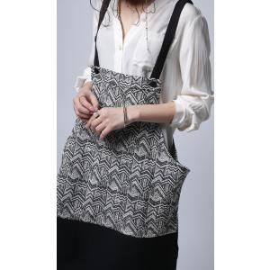 otonaが選ぶサロペstyle。ジャガード柄サロペスカート・再再販。サロペット 「G」##メール便不可|antiqua|08