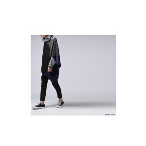 トップス ニット ドルマン モード タートルドルマントップス・12月5日20時〜発売。##メール便不可|antiqua|08