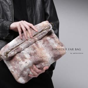 バッグ 鞄 ファー ショルダーバッグ 2wayファーバッグ・20時〜再販。「G」##メール便不可|antiqua