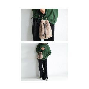 バッグ 鞄 レディース ショルダーバッグ ファーバッグ 10wayバッグ・10月30日20時〜発売。##メール便不可|antiqua|04