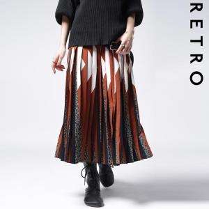 ボトムス スカート プリーツ レオパード プリーツミディスカート・1月12日20時〜発売。##メール便不可|antiqua