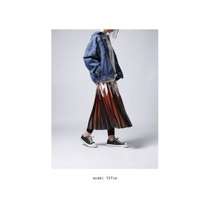 ボトムス スカート プリーツ レオパード プリーツミディスカート・1月12日20時〜発売。##メール便不可|antiqua|04