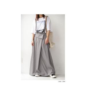 サロペット ワンピース サロペワンピ ボトムス スカート 2wayサロペスカート・##メール便不可|antiqua|12