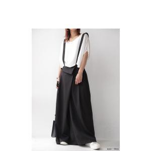 サロペット ワンピース サロペワンピ ボトムス スカート 2wayサロペスカート・##メール便不可|antiqua|08