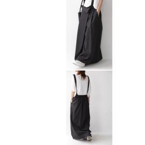 サロペット ワンピース サロペワンピ ボトムス スカート 2wayサロペスカート・##メール便不可|antiqua|09