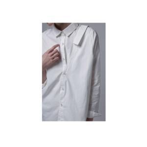 レディース トップス シャツ アシンメトリー レイヤード風アシメシャツ・2月23日20時〜発売。##メール便不可|antiqua|11