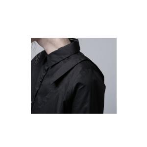 レディース トップス シャツ アシンメトリー レイヤード風アシメシャツ・2月23日20時〜発売。##メール便不可|antiqua|13