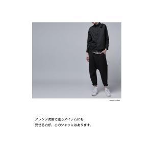 レディース トップス シャツ アシンメトリー レイヤード風アシメシャツ・2月23日20時〜発売。##メール便不可|antiqua|14