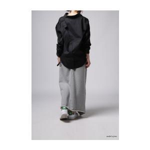 レディース トップス シャツ アシンメトリー レイヤード風アシメシャツ・2月23日20時〜発売。##メール便不可|antiqua|15