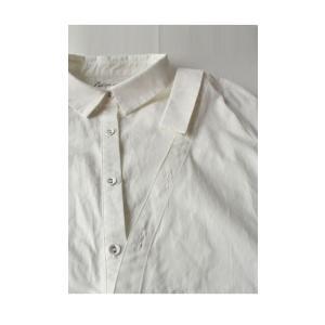 レディース トップス シャツ アシンメトリー レイヤード風アシメシャツ・2月23日20時〜発売。##メール便不可|antiqua|17