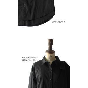 レディース トップス シャツ アシンメトリー レイヤード風アシメシャツ・2月23日20時〜発売。##メール便不可|antiqua|08