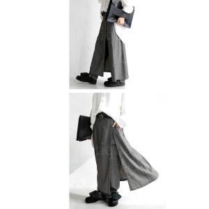 ボトムス パンツ レディース ロング スカート ジョッパーズ レイヤードパンツ・1月15日20時〜再販。##メール便不可|antiqua|14