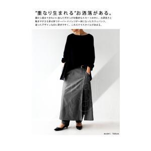 ボトムス パンツ レディース ロング スカート ジョッパーズ レイヤードパンツ・1月15日20時〜再販。##メール便不可|antiqua|03