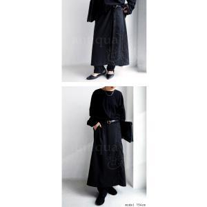 ボトムス パンツ レディース ロング スカート ジョッパーズ レイヤードパンツ・1月15日20時〜再販。##メール便不可|antiqua|04
