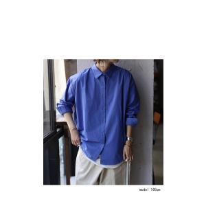 トップス シャツ 長袖 レディース 綿 綿100% 綿タックシャツ・6月13日20時〜再再販。100ptメール便可|antiqua|03